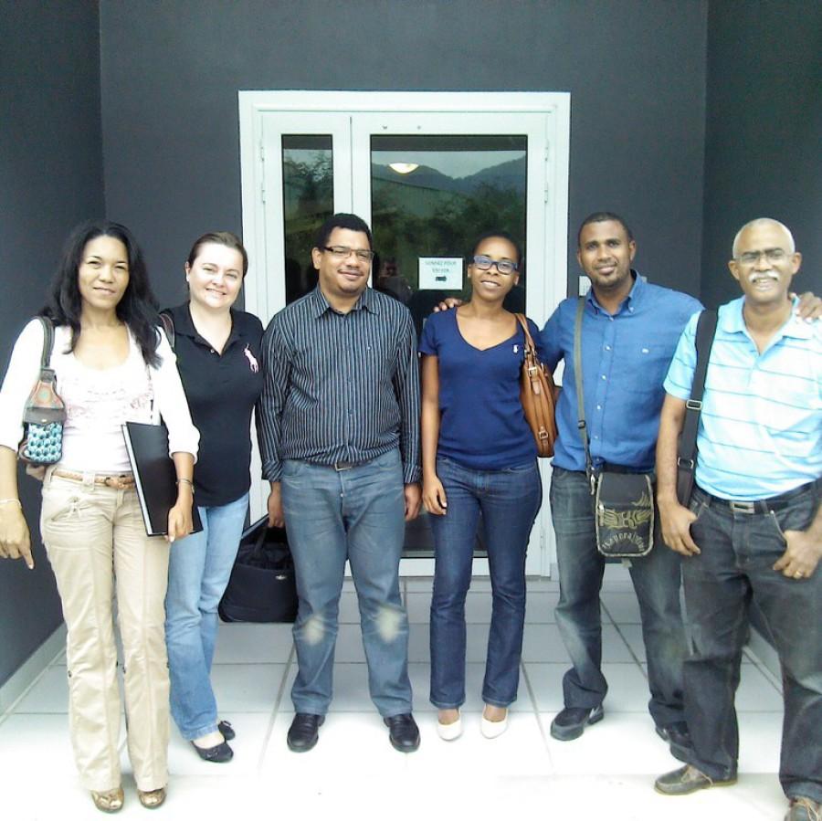 L'équipe du Conseil Général de Martinique. Félicitation à vous 6 pour la réussite de votre certification ITIL
